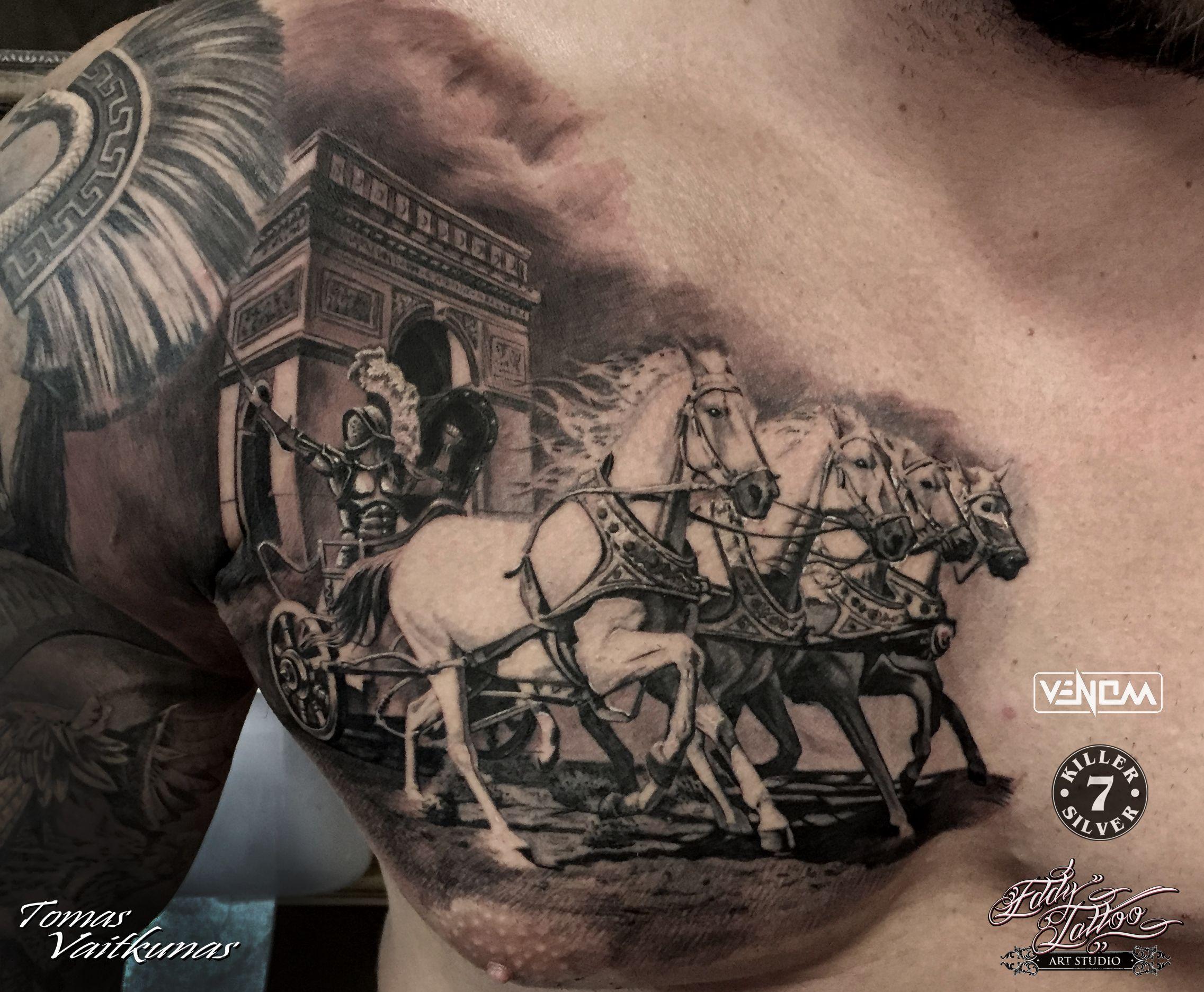 http://tomasvaitkunas.com/ #gladiator #tattoo | Tattoos ...