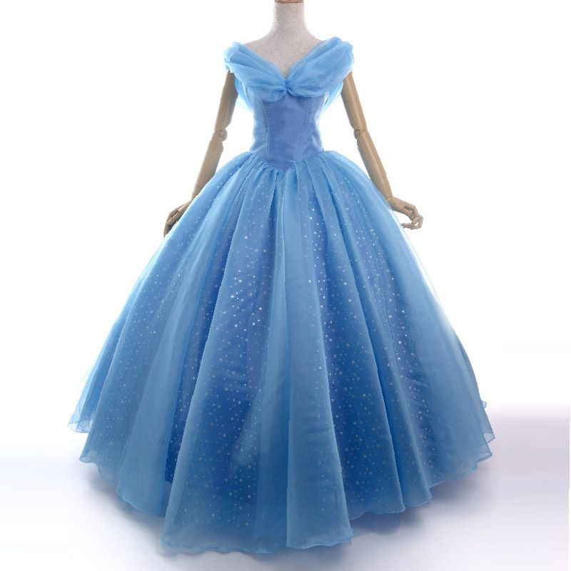 cendrillon robe 2015 film de bal robe adulte princesse cosplay halloween robe pinterest. Black Bedroom Furniture Sets. Home Design Ideas