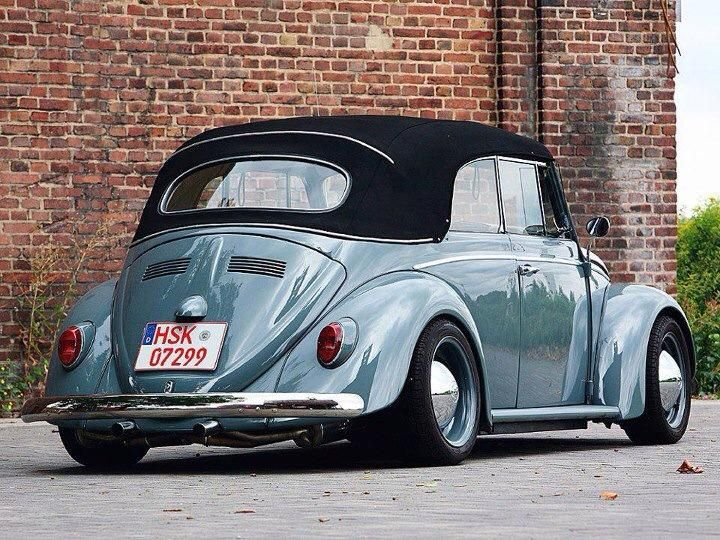 Vintage Volkswagen Beetle Cabriolet