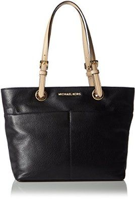 3729f8a29316 Michael Kors Women s Bedford Leather Tote Top-handle Bag