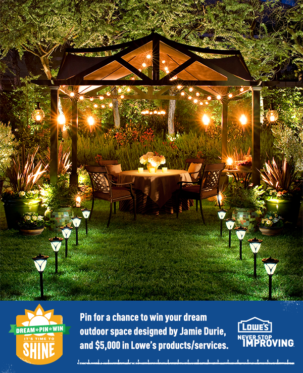 Be sure to click through to enter Lowe\'s Time to Shine Sweepstakes ...