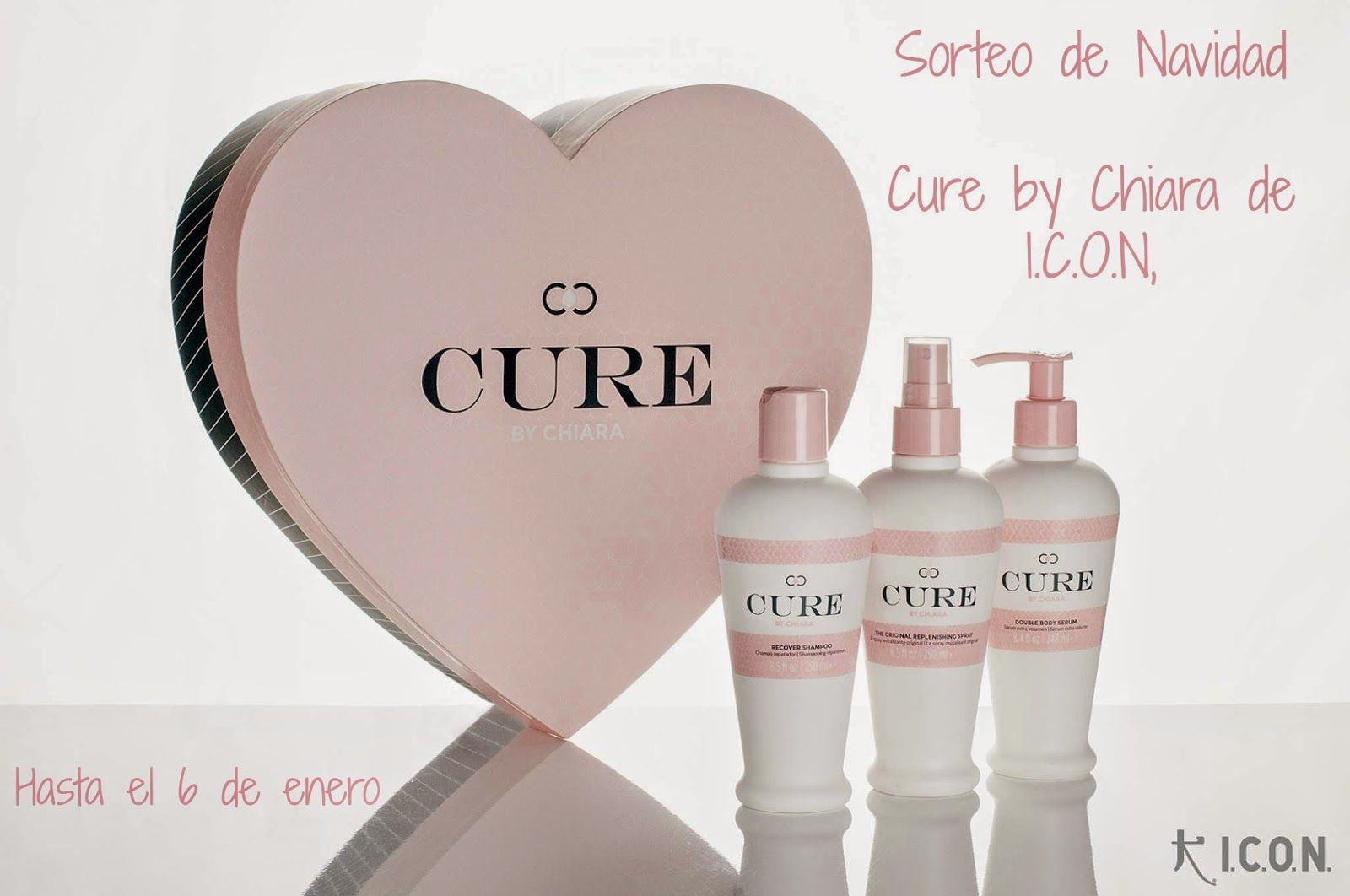 Un 10 en Belleza: Sorteo de Navidad: Cure by Chiara de I.C.O.N.