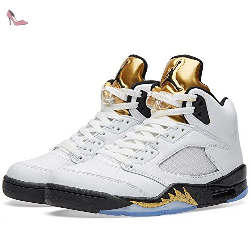 805876310511 White Jordans With Gold Tongue Nike Shox Nz Deluxe