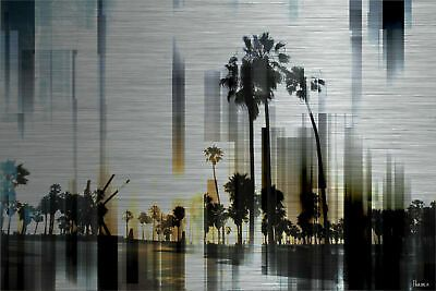 Parvez Taj Ocean Front - Aluminum 30 x 45 Art Print On Brushed Aluminum #fashion #home #garden #homedcor #otherhomedcor (ebay link)