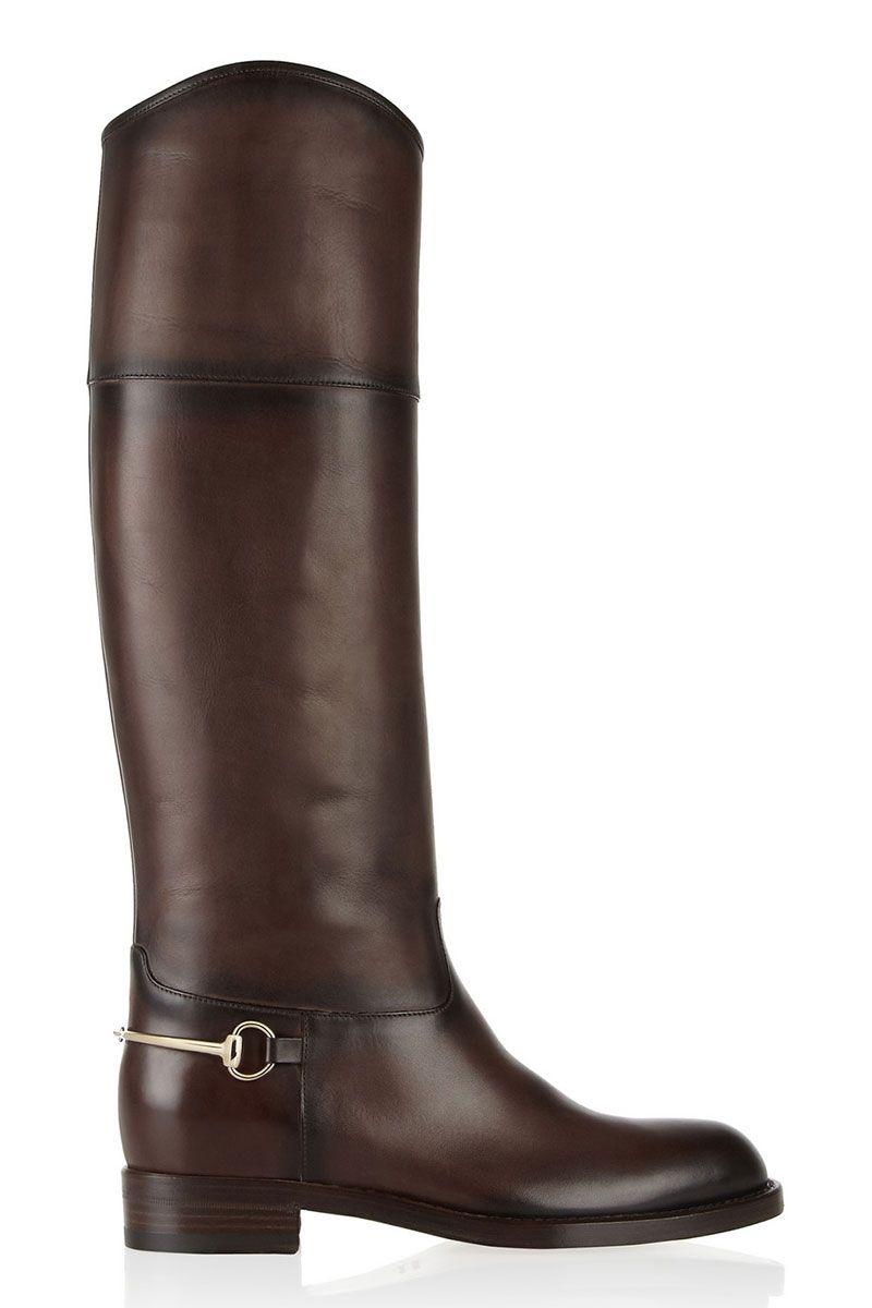 012c719de 11-Tall Flat Boots: de look de montar ideales para invierno. Perfectas con  remera y jeans,