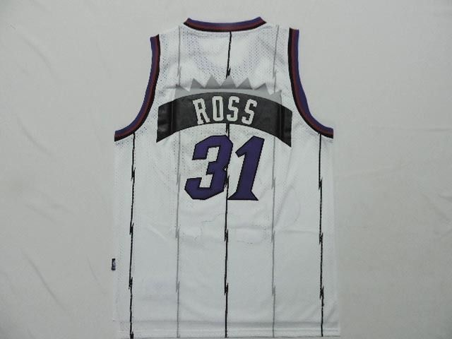 sale retailer 82934 c0679 Men's NBA Toronto Raptors #31 Terrence Ross White Jersey ...