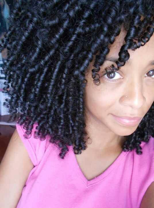 45++ Finger coils on natural hair inspirations