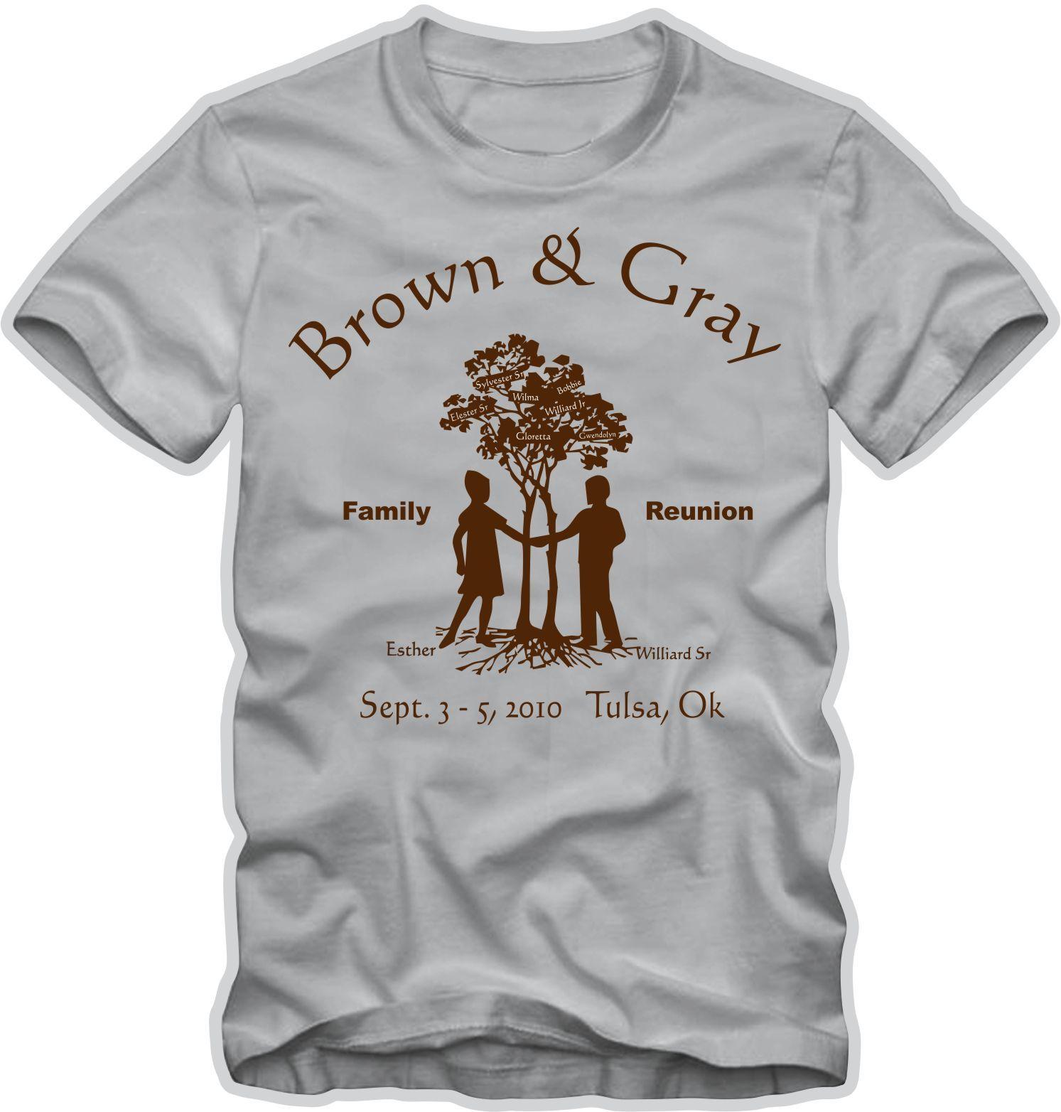 8ec13b8ce Couple And Tree family reunion t-shirt. | T-Shirts - Family Reunion ...