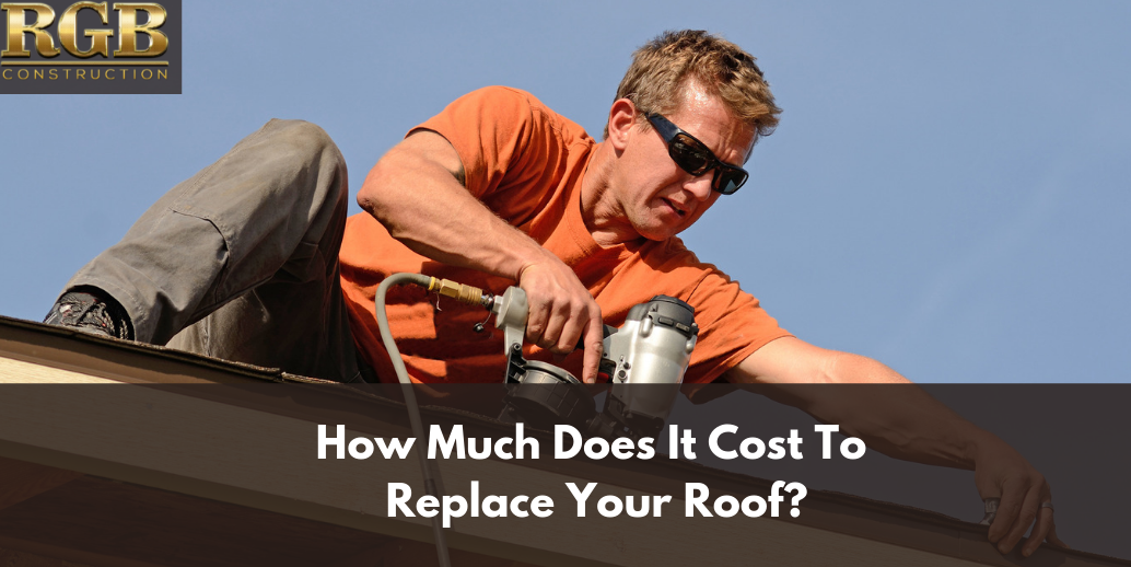 How Much Does It Cost To Replace Your Roof Roof Roofing Square Roofing Contractors