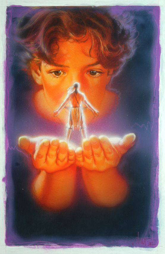 Indian In The Cupboard 1994 By Drew Struzan Movie Artwork Movie Poster Art Poster Art
