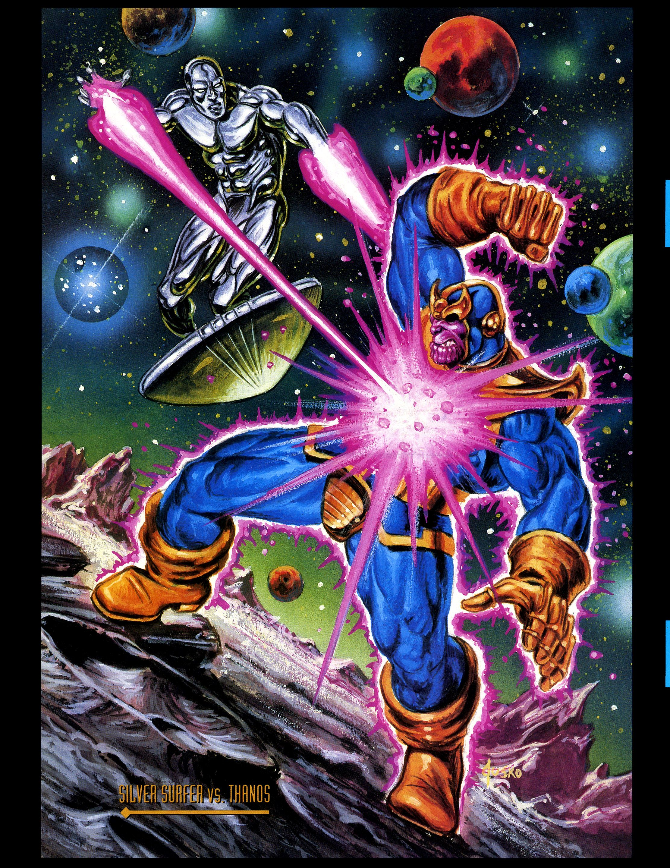 Ultron vs silver surfer