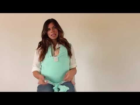 Nursing In A Solly Baby Wrap Youtube Baby Wearing Baby Wrap