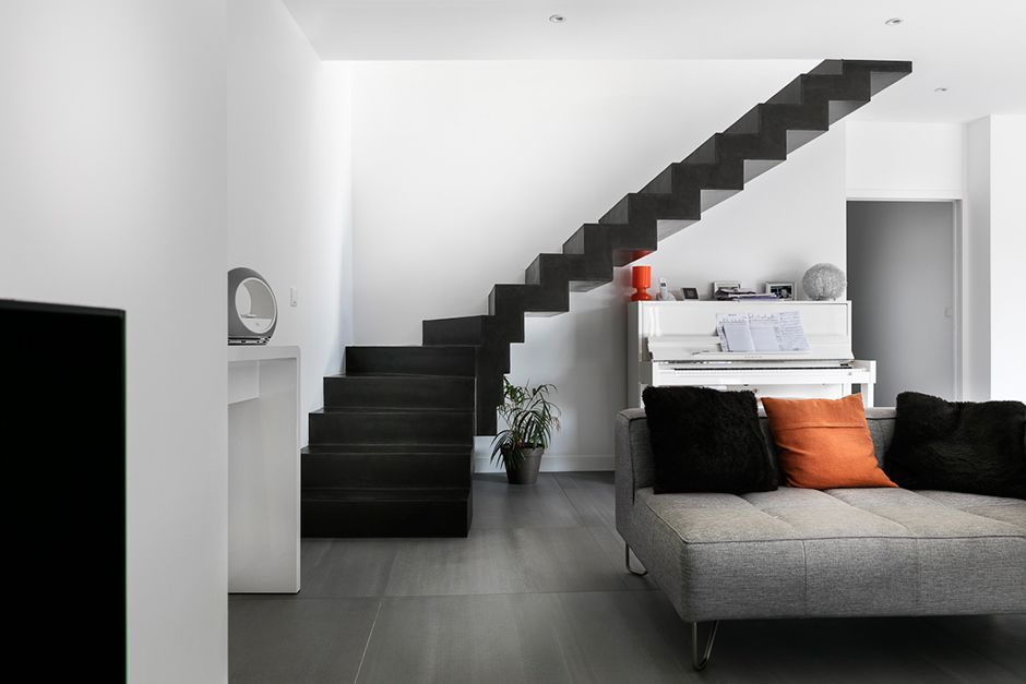 escalier-beton-cire-matisse-nantes-01 | stairs/ escaliers | Pinterest