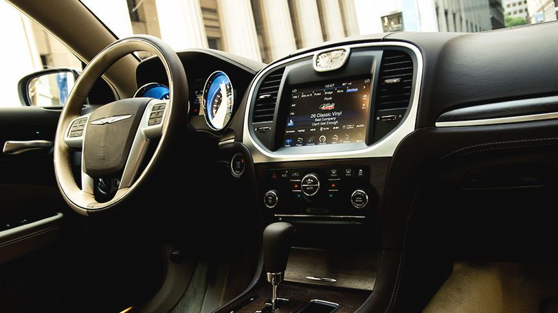 One year SiriusXM® Radio is available on the 2014 Chrysler 300.
