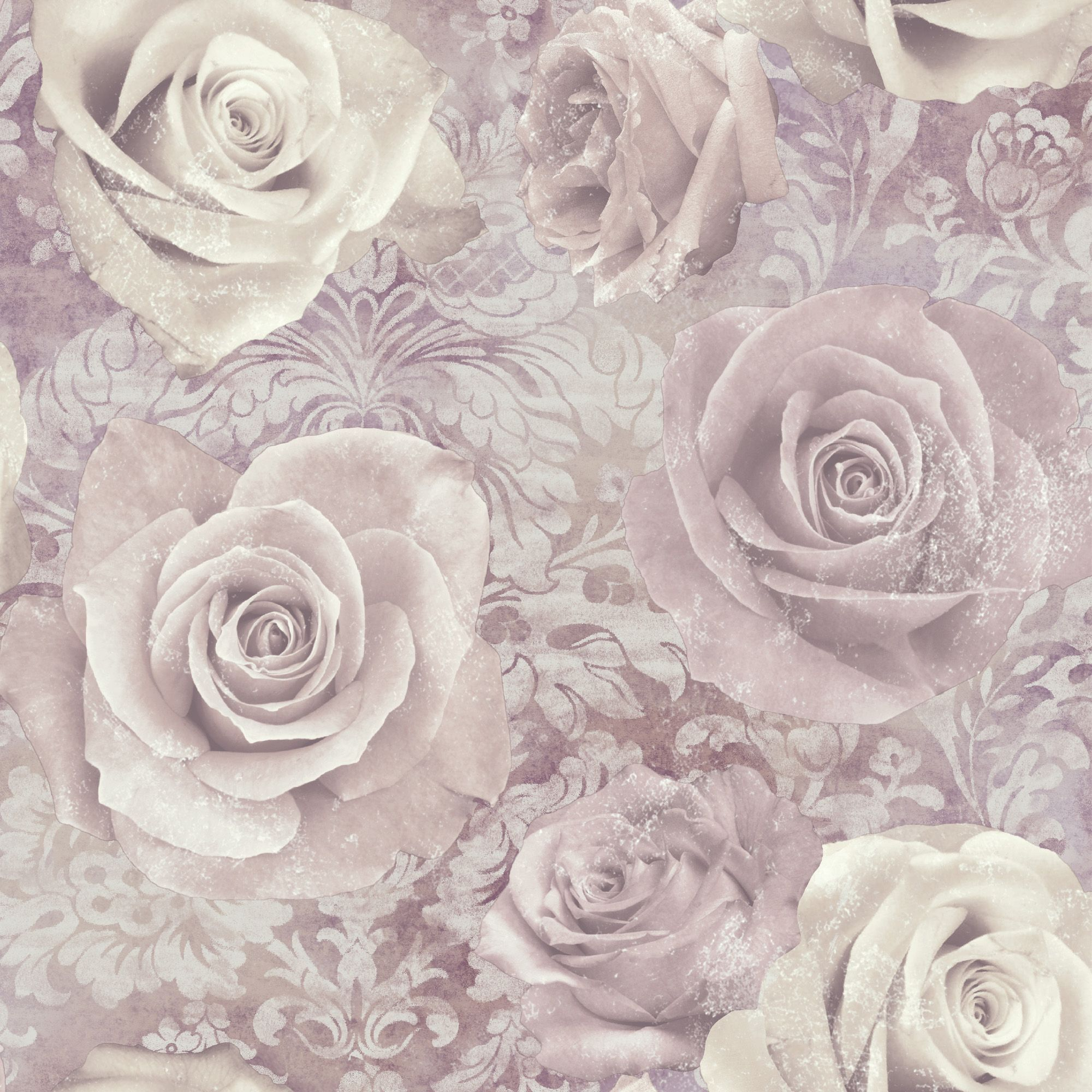 unlimited reverie mauve purple floral wallpaper purple wallpaperbedroom coloursmarketing ideasliving - Floral Wallpaper Bedroom Ideas
