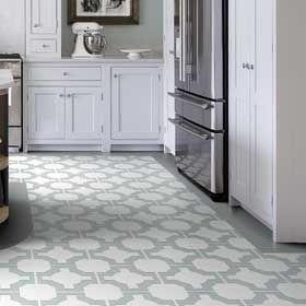 Patterned Kitchen Floorvinyl Tiles  Vinyl Flooring Ideas Prepossessing Vinyl Flooring Kitchen Inspiration Design