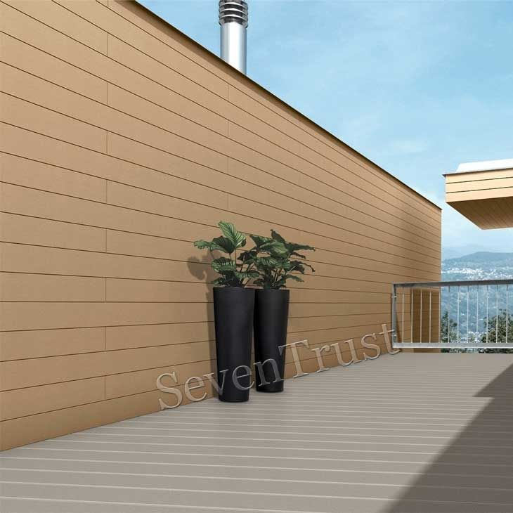 No Maintenance Wood Plastic Wall Panels Exterior House Colors Plastic Wall Panels Decking Suppliers