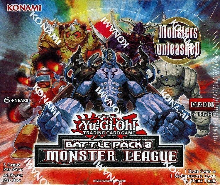 Details about yugioh battle pack 3 monster league 1st ed