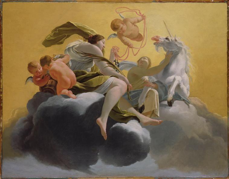Simon Vouet, Allégorie de la Tempérance (avec images) | Artiste ...