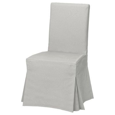 Long Cover Patterned Fits IKEA Henriksdal Chair Custom Made Chair Cover