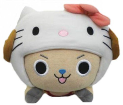 One Piece × Hello Kitty!cute cute cute~ ワンピース×ハローキティ チョッパークッション  #OnePiece #HelloKitty  (src: http://bit.ly/HW1yDQ)