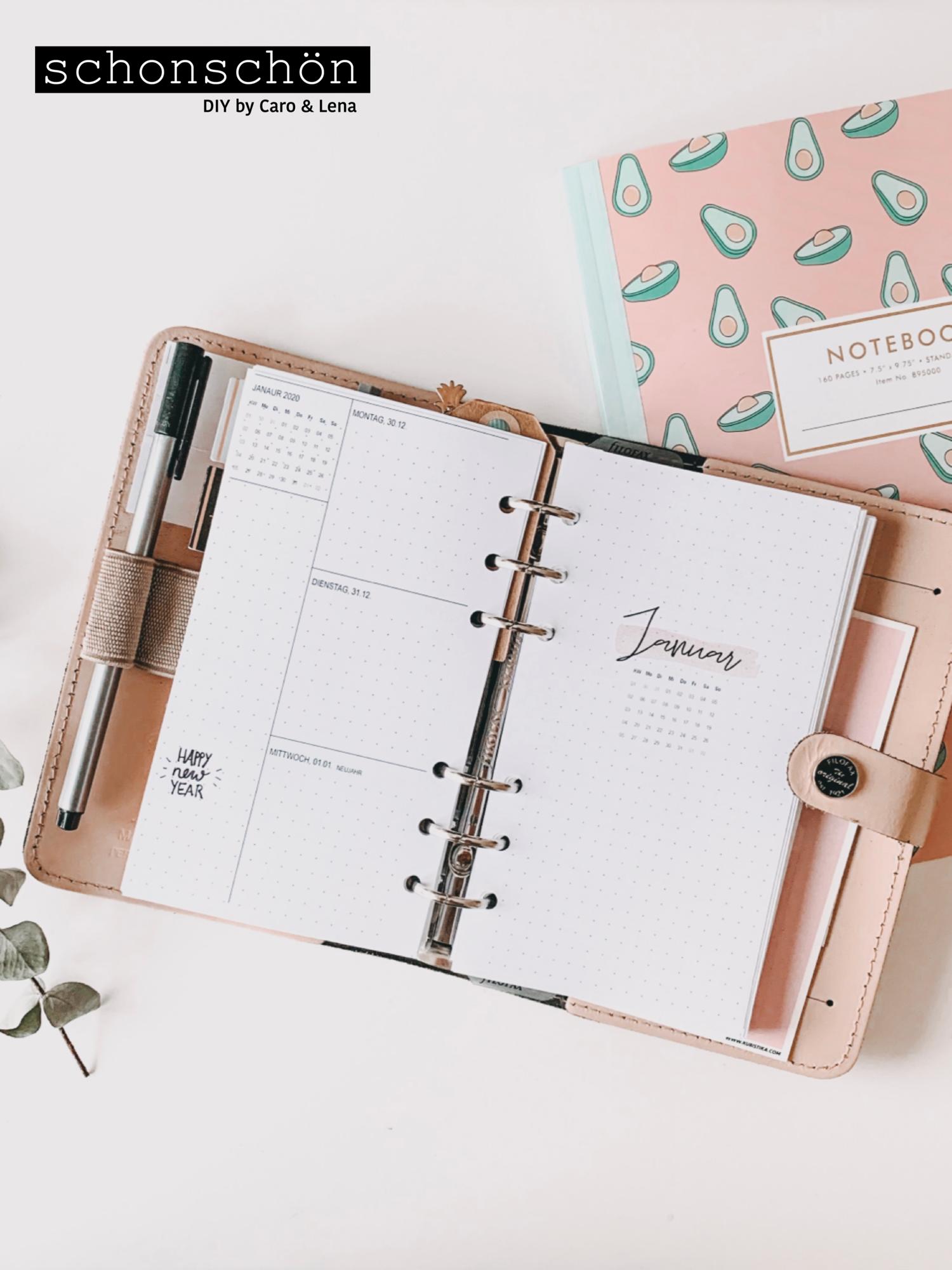 Kostenloser Download Filofax Kalender 2020 Terminplaner Vorlage Filofax Kalender Kalender Organisation