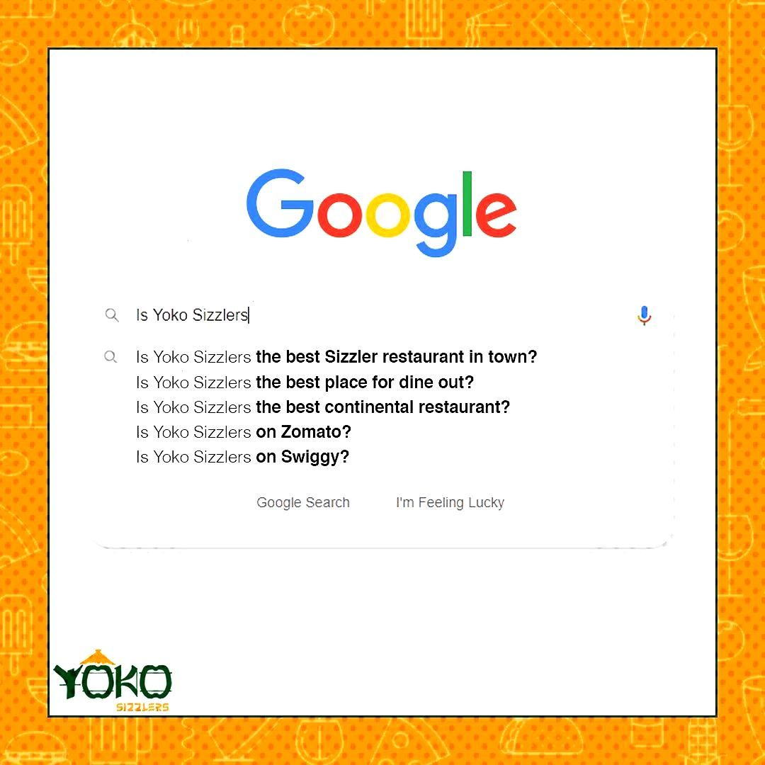 Searching for the best place to enjoy Sizzlers? Well, search no more and come home to Yoko Sizzlers