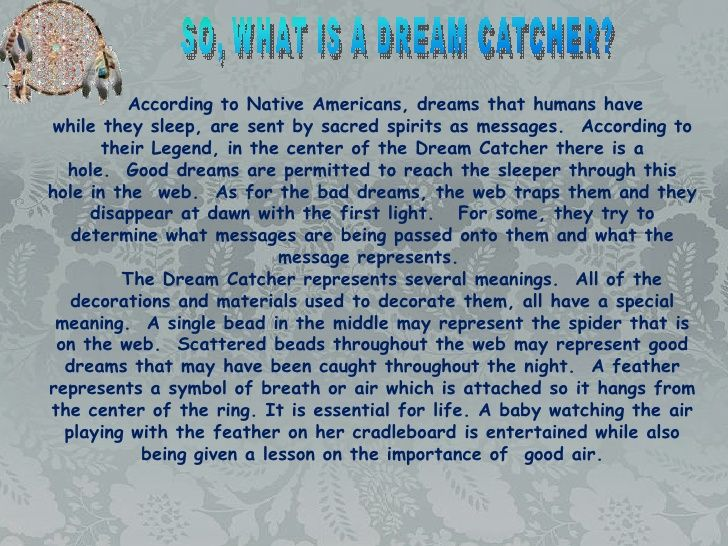 The Story Of Dream Catchers Image result for dream catchers meaning BE A Dreamer Catch 10