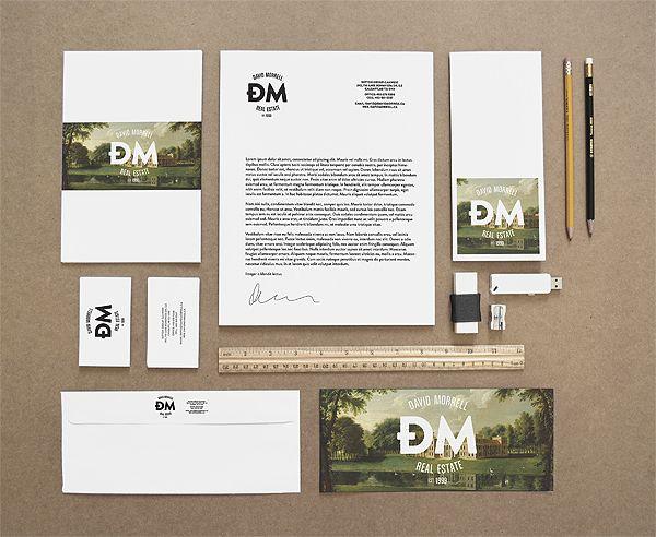 David Morell - Real Estate Agent by Zdunkiewicz , via Behance