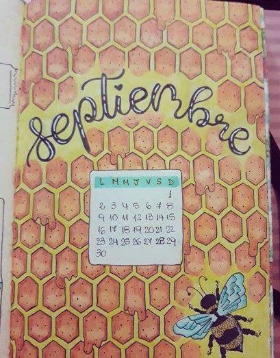 September Bullet Journal Ideas #septemberbulletjournalcover