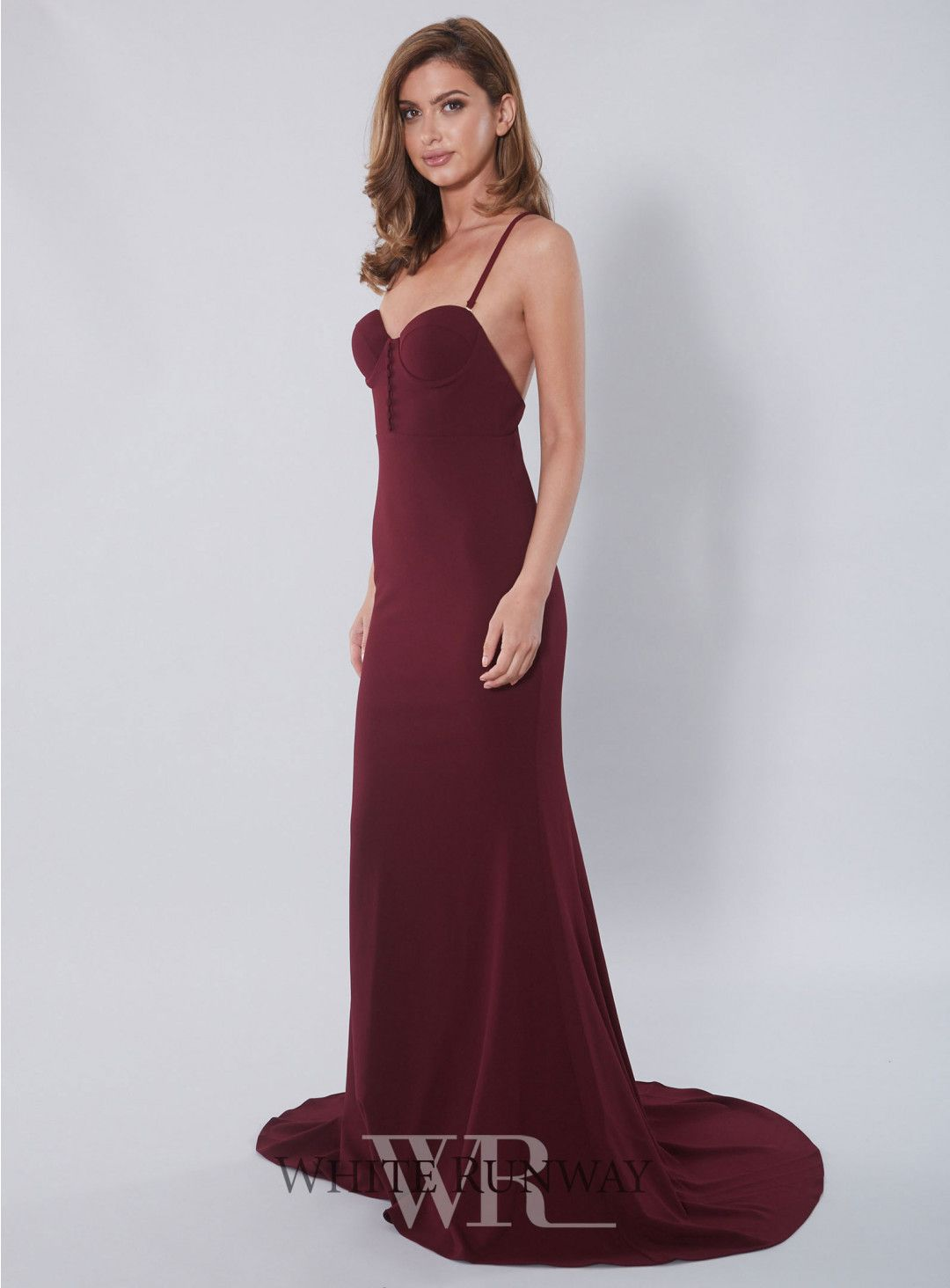 fbed3ae471 Sala Gown. A gorgeous full length dress by Samantha Rose. Features a  sweetheart neckline with corset bodice
