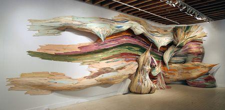 MISTURA URBANA » Arte com Tapume By Henrique Oliveira