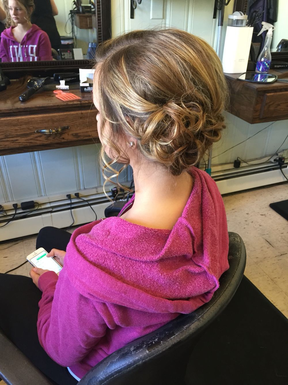 Updo, curled low side bun #lowsidebuns Updo, curled low side bun #lowsidebuns Updo, curled low side bun #lowsidebuns Updo, curled low side bun #lowsidebuns