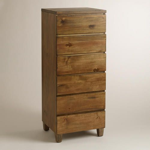 Beautiful Acacia Wood Grains Highlight The Natural Beauty Of Our Tall Standing Reilly 6 Dr Affordable Bedroom Furniture Bedroom Furniture Beds 6 Drawer Dresser