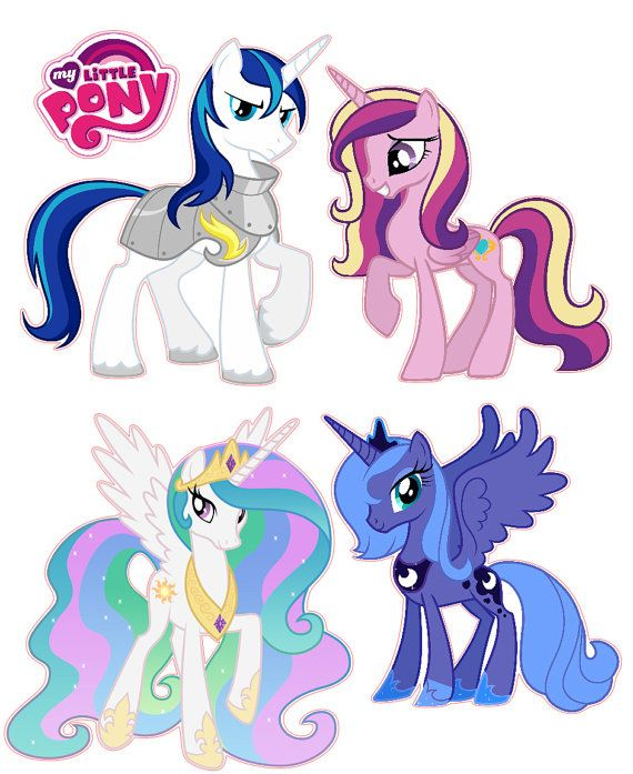 My Little Pony Friendship is Magic Removable by KewlWallStickers $26 ...