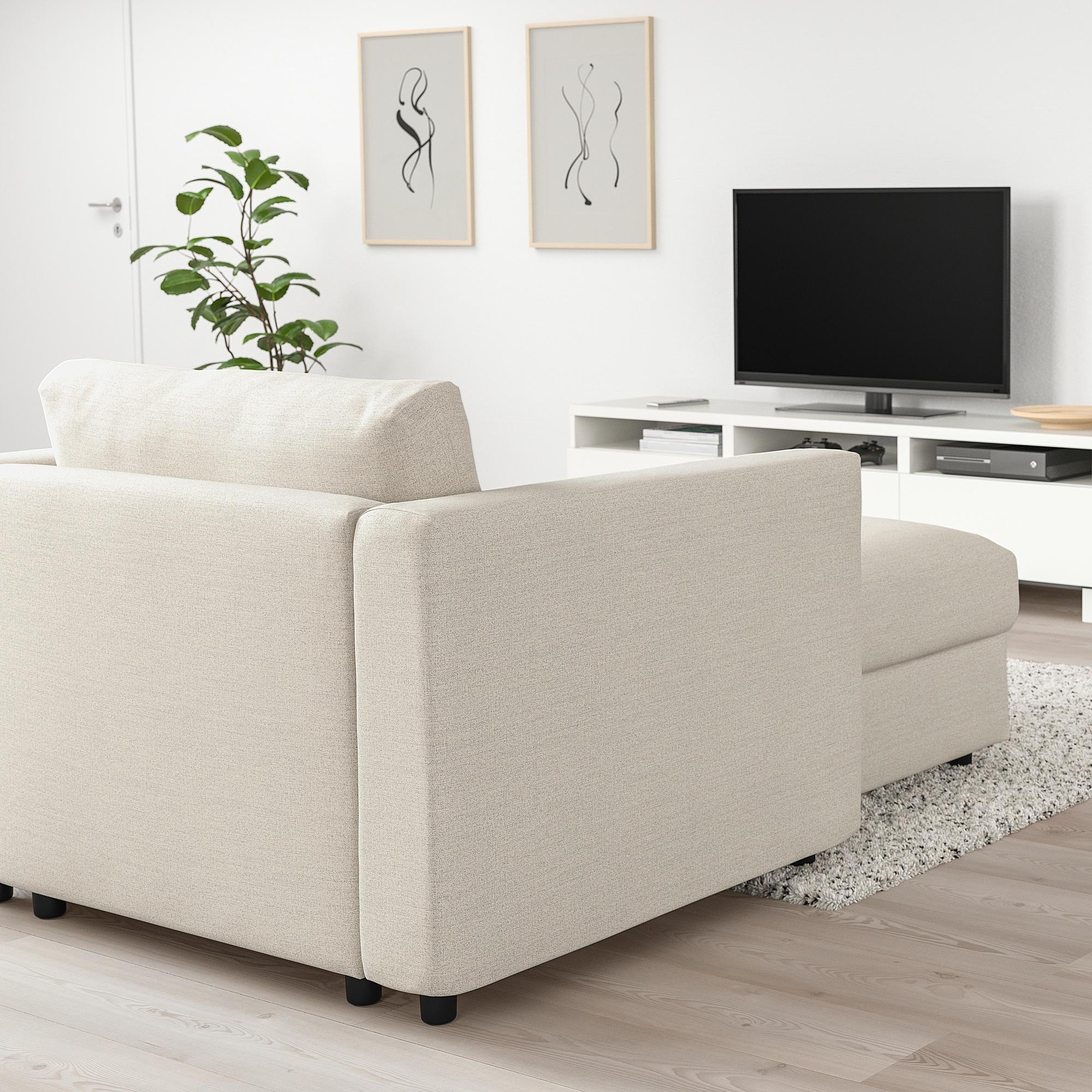 Ikea Vimle Chaise Gunnared Beige En 2019 Canapé Lit