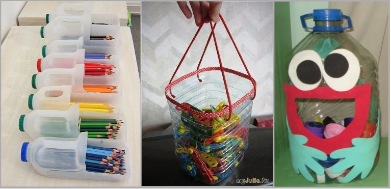 Creative ideas on bottles creative ways to organize kids for Creative recycling ideas for kids