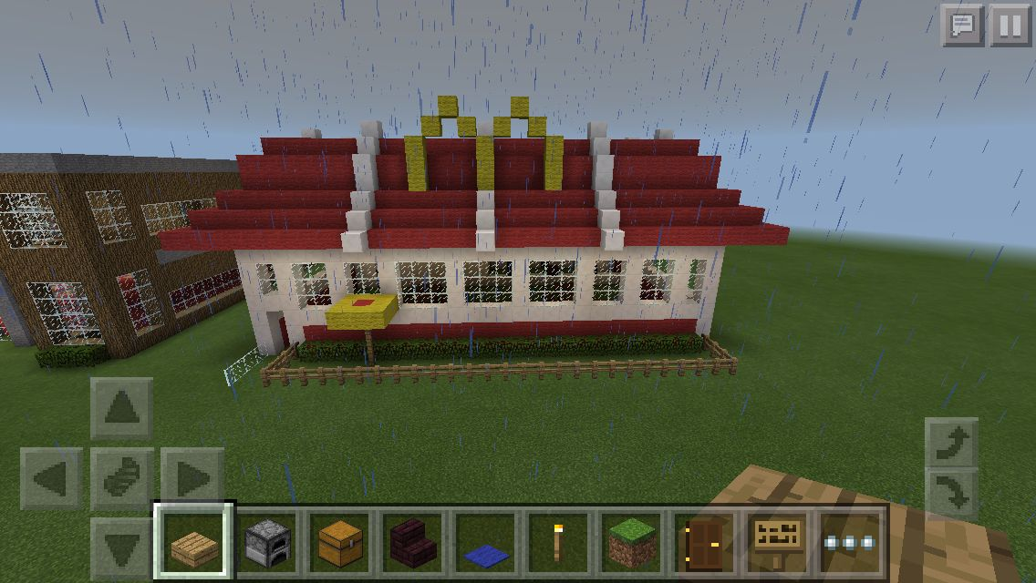 McDonald\'s Minecraft Restaurant | Minecraft in 2018 | Pinterest ...
