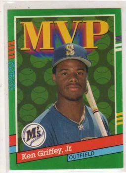Valuable Ken Griffey Jr. Cards   Ken Griffey Jr. 1991 Donruss baseball Card
