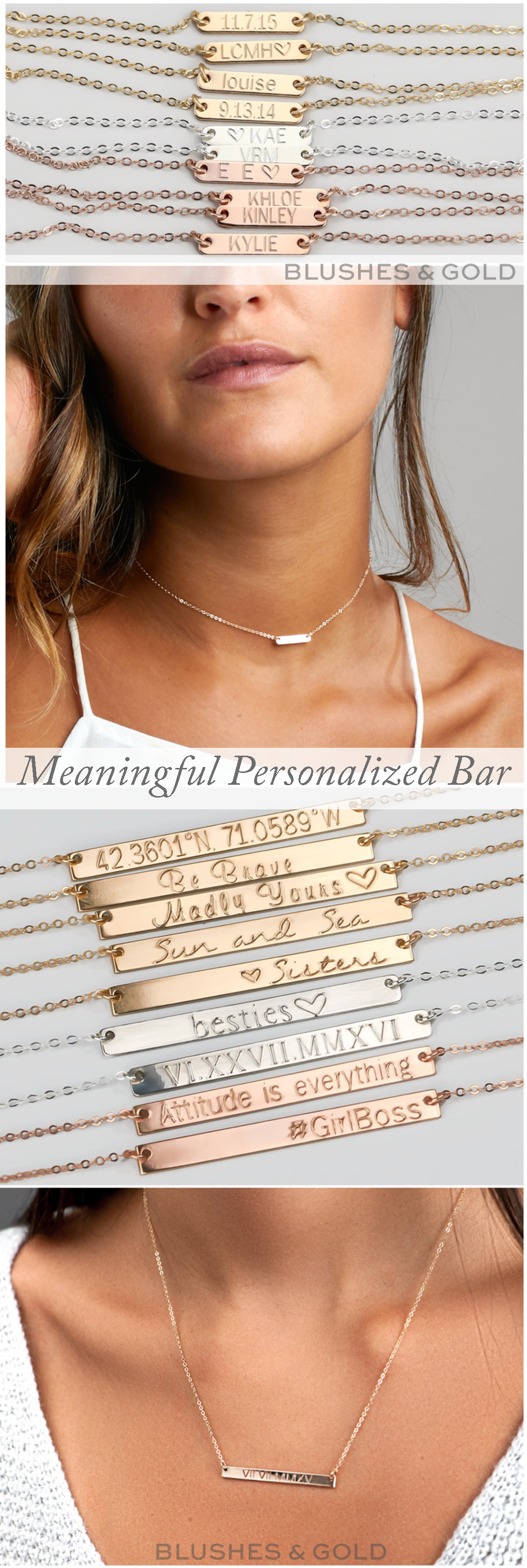 Awesome Personalized Idea Personalized Bar Necklace Bar Necklace Engraved Necklace Engrava With Images Bar Necklace Personalized Custom Name Necklace Engraved Necklace