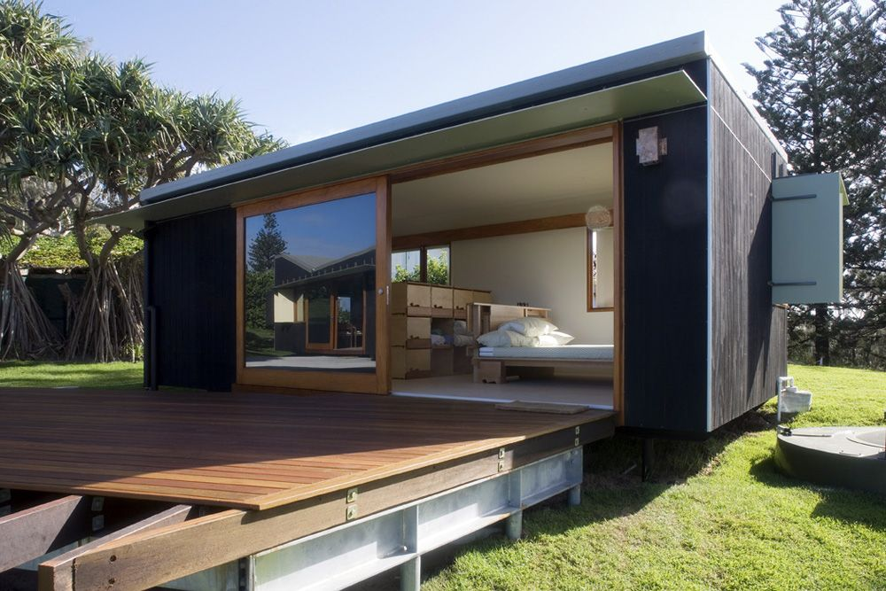 Happy Haus by Donovan Hill Interest in prefabricated housing surfaces regularly…