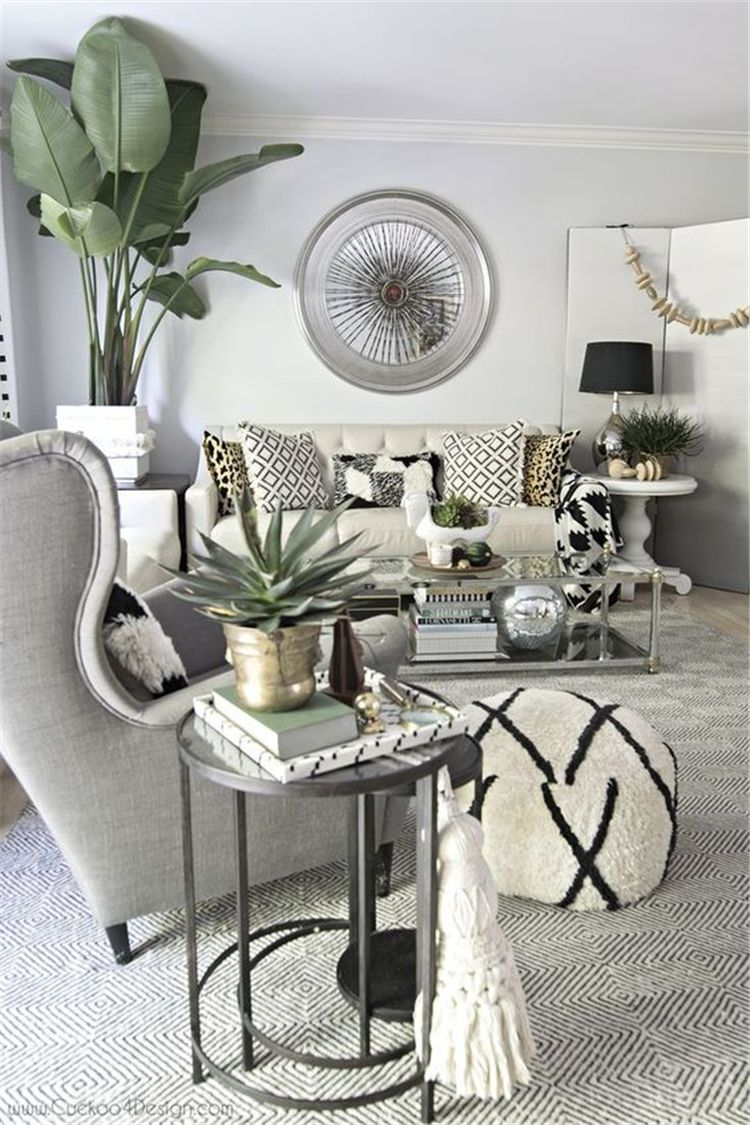 58 Living Rooms Ideas With Combinations Of Grey Green