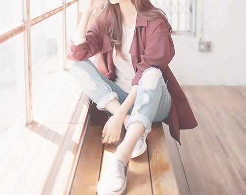 fashion, girl, and kfashion image Fotografi remaja