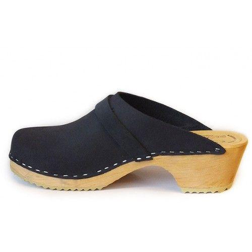 Chaussures Skane Toffeln bleu marine femme qelEb