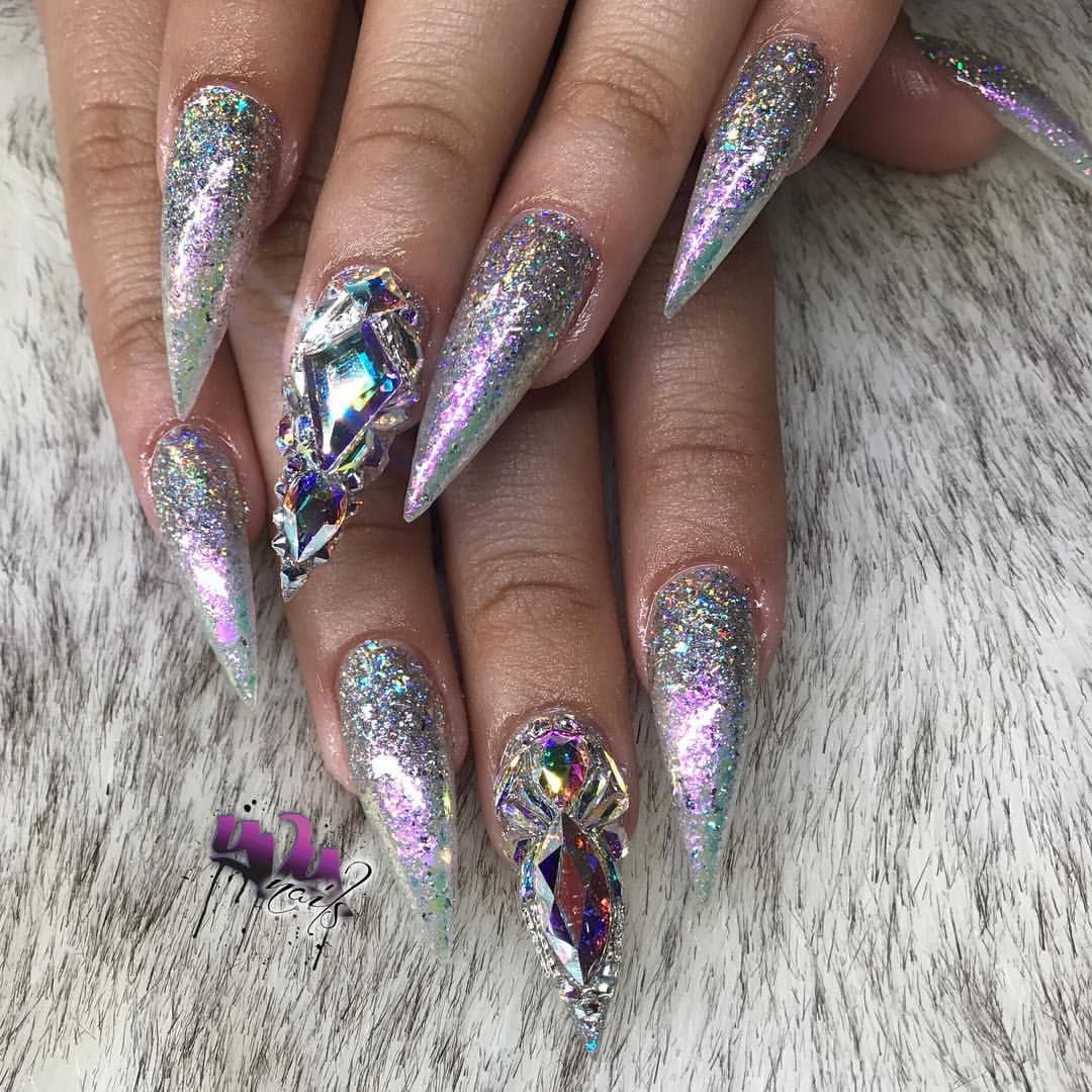 Pin by Brooke Breland on Nail Art (With images) | Bling ...