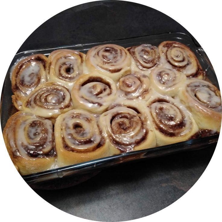 Bread Machine Cinnamon Buns | Recipe | Bread machine ...