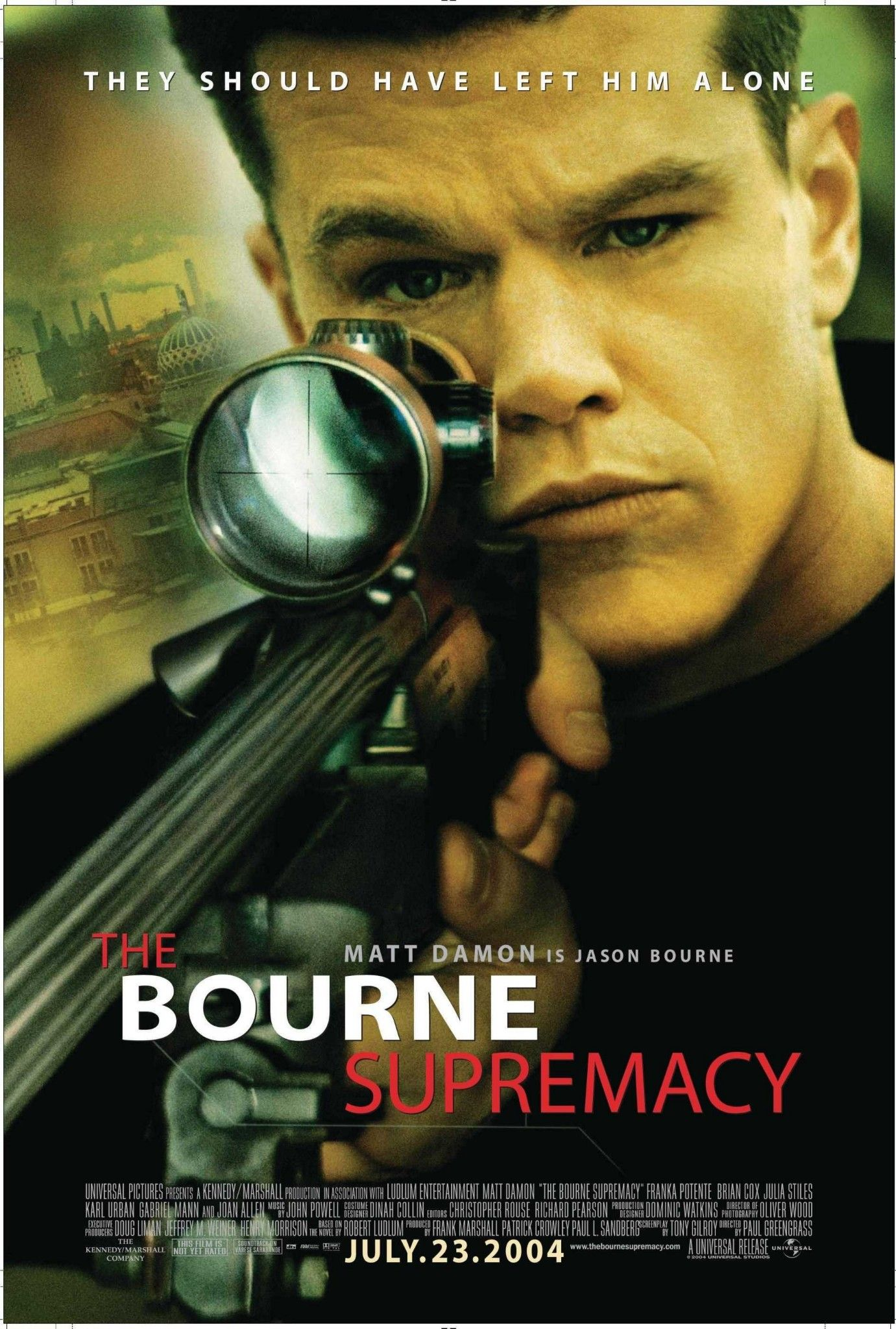 Pin By Denis Kassel On Movie Posters Bourne Movies Film Movie Bourne Supremacy