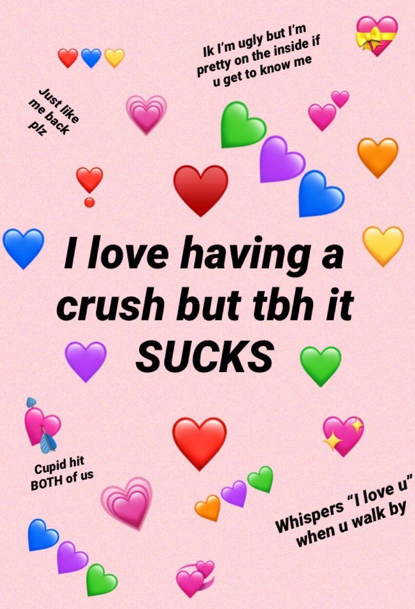 Sup Crush Cute Memes Love Memes Wholesome Memes