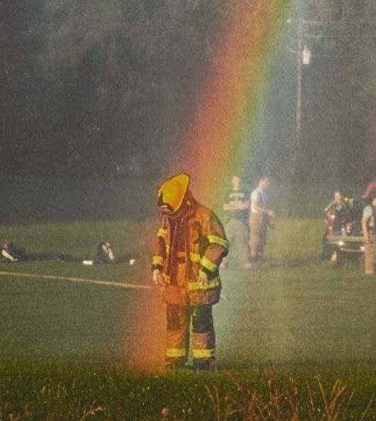 I Found Whats At The End Of A Rainbow Thank God For Our First