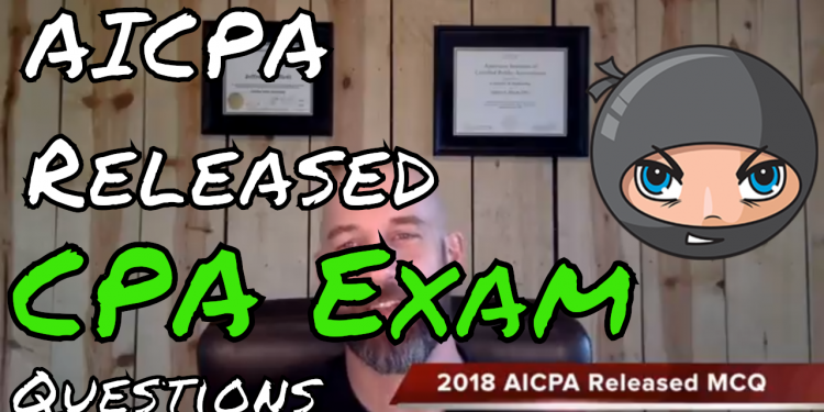 aicpa-released-questions-pdf-2018 | Pass the CPA Exam | Cpa exam